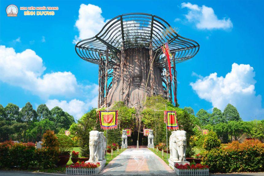 Đền Hùng và ngày Giổ Tổ Hùng Vương tại Hoa Viên Bình Dương 2021